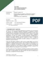 Programa 2007 de Lengua IV Nueva versión
