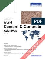 World Cement & Concrete Additives