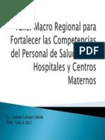 Taller Macro Regional Para Fortalecer Las Competencias Del