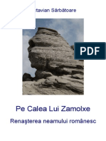 PE CALEA LUI ZAMOLXE - Renasterea neamului romanesc - Autor Octavian Sarbatoare