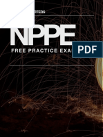 NPPE Exam - Multiple Choice Sample Exam