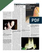 """Alex Guerra y """"La sombra de Gaudí"""""""