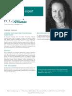 Gabrielle Steckman, PCG Public Partnerships, LLC Subject Matter Expert