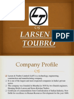 L & T Fundamental & Technical Analysis