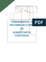 Fundamentos y Recomendaciones de Albañilería Confinada