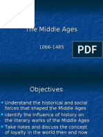 The Middle Ages powerpoint