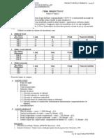 Tema de Proiectare - Retele Termice 2013-14