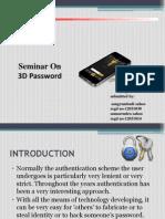 3d Password Ppt