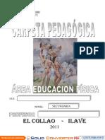 Carpeta Pedagogica Educa. Fisica 2011