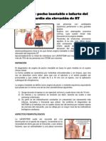 Angina de pecho inestable e infarto del miocardio sin elevación de ST