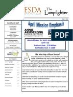 April 2014 Lamplighter