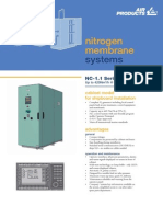 Nitrogen generator for marine use