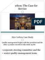 Ritz Carlton Case Study