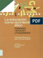 La educacion como acontecimiento ético (1)