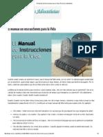 El Manual de Instrucciones Para La Vida _ Recursos Adventistas