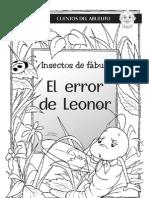 HL_HLM106_Cuentos del Abuelito--Insectos de fábula El error de Leonor