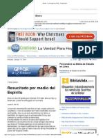401132Gmail - La Verdad Para Hoy _Resucitado por medio del Espíritu_Juan 3y34-35