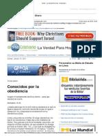 401191Gmail - La Verdad Para Hoy_Conocidos Por La Obediencia_Romanos 16y26