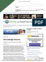 401213Gmail - La Verdad Para Hoy_Una Entrega Sincera_Romanos 1y9