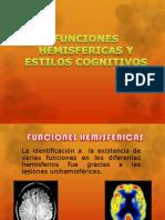 Funciones Hemisfericas Neuro II