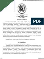 TSJ, Interpretación artículo 191 Constitucional
