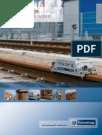Crane Track Material