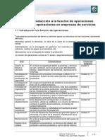 Lectura 1 Introducción a la Función de Operaciones - Diseño de producto y selección del proceso