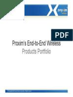 Proxim Product Portfolio v4