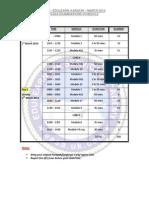 Examination Schedule March 2014 (1)