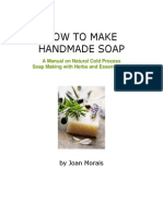 How to Make Handmade Soap by Joan Morais