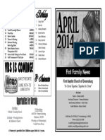 FBC Newsletter 04 2014