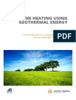 Introduction Geothermal Heating