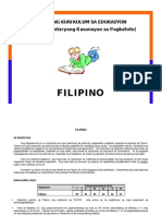 Competencies in Filipino