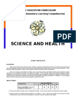 Competencies in Science