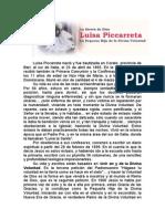 Luisa Piccarreta - Biografia y Obra