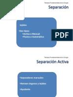 Separacion y Suturas
