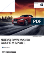 Ficha Tecnica BMW M235iA Coupe M Sport Automatico 2014
