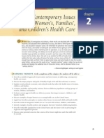 Maternal Nursing Care- Chpt 2 Contemporary Issues