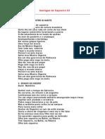 Cantigas de Capoeira 03