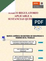 Marco Regulatorio Aplicable a Sustancias Quimicas