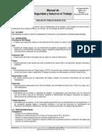 PP-E 02.03 Análisis de Trabajo Seguro (ATS)
