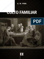 Livro eBook Culto Familiar