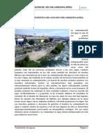 LA CONTAMINACIÓN DEL RÍO CHILI AREQUIPA