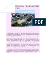 CONTAMINACIÓN DEL RIO CHILI EN AREQUIPA