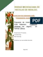 Invernadero de Chile Habanero (Autoguardado)