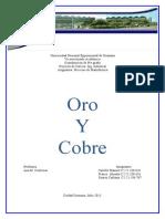 Exposicion Del Oro y Cobre