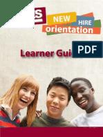 SYKES NHO Learner Guide Sample