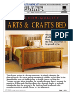 Plan Bed Heirloom Arts and Crafts