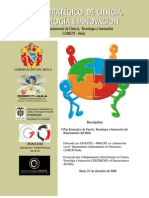 Plan Estrategico de Ciencia Tecnologia e Innovacion CODECYT - Huila