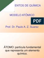 AULA 01 - Modelo Atômico